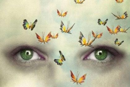 Gözler ve kelebekler1