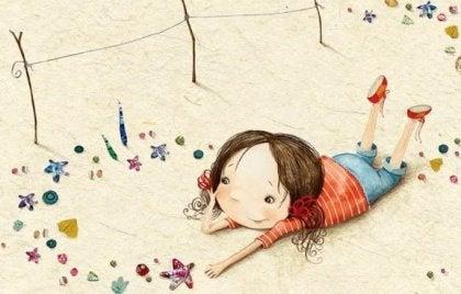 kumdaki kız