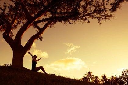 doğada mutlu