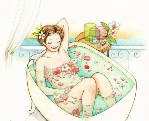 banyo-yapan-kadin
