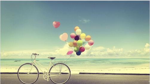 bisiklet-balon