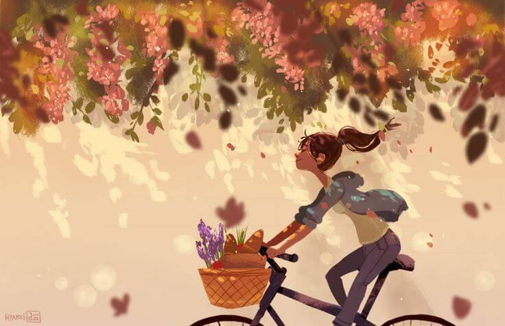 bisiklet-mutlu-kiz