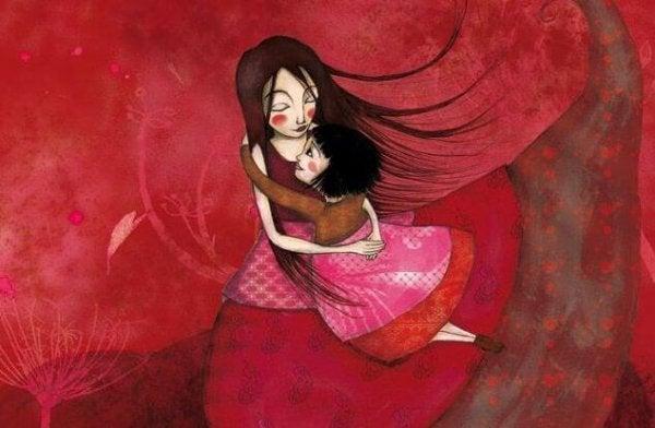 Çocuklarınız, Dünyanın bir Parçası Olduklarını Hissetmek için Sizin Sarılmalarınıza İhtiyaç Duyar