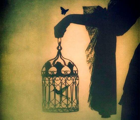 Kafesteki Kuş, Uçmayı Hastalık Sanır