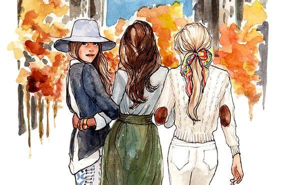 Kız Kardeşler Birbirlerine Kalpten Bağlıdırlar