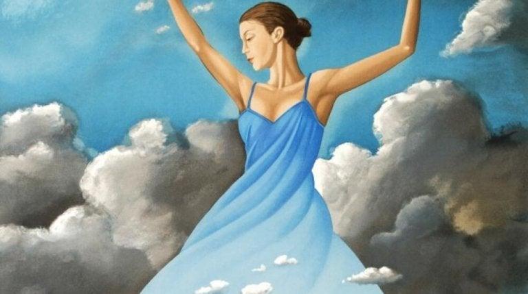 bulutlarla dans etmek