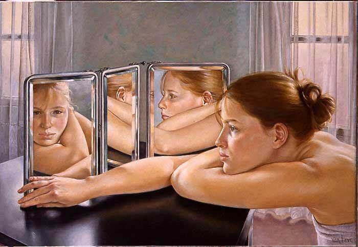 aynalar bazen kendimizi her yönden görmemizi sağlar