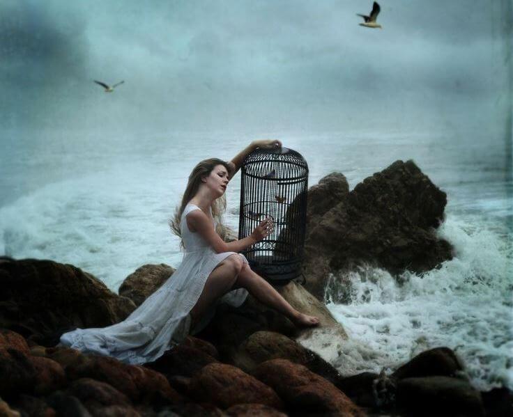 kafeste kuşlar, özgür kuşlar