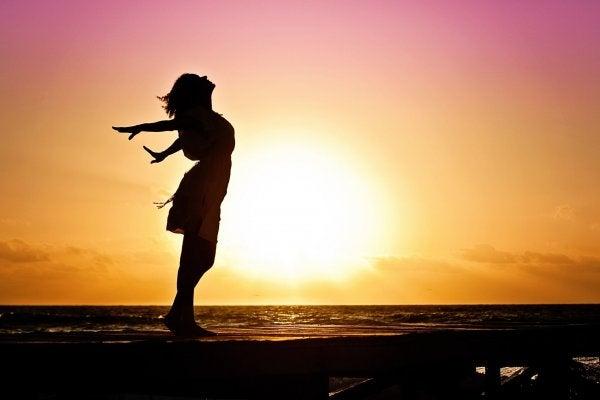 gün batımında dans etmek
