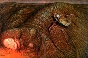 kadın tekne saç
