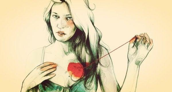 kalbini onaran kadın