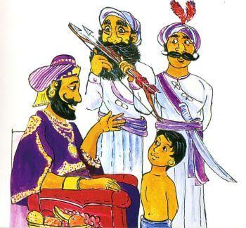 Babası Siddharta'ya öğüt veriyor.