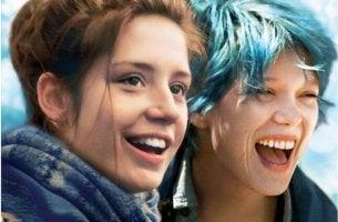 Mavi en güzel renktir filminden bir kare
