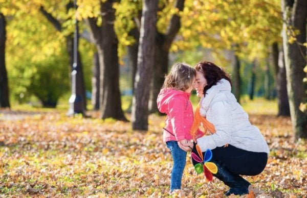 anne-çocuk-orman