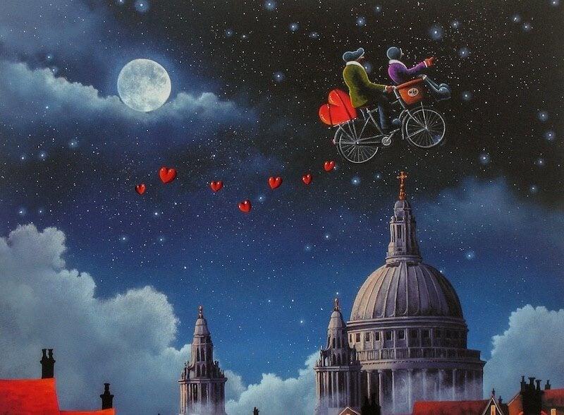 aşk ve ay ışığı