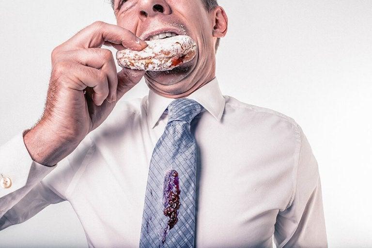 donut yiyen adam