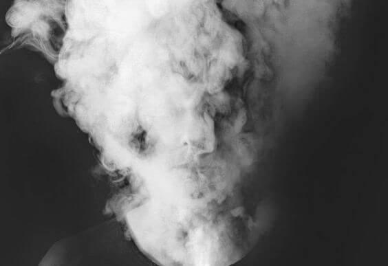 duman kaplı kafa