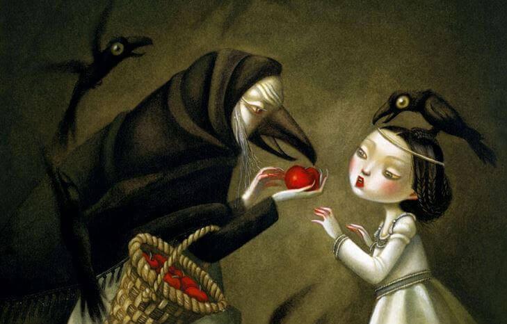 elma cadı kız
