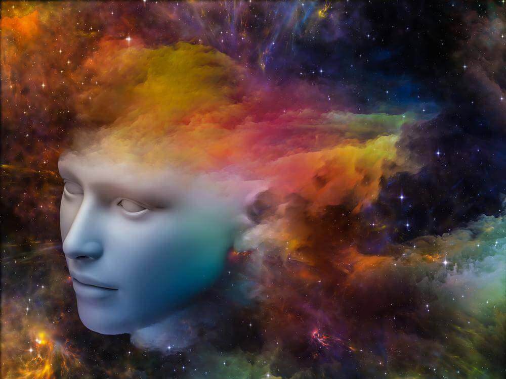 renkli evren ve zihin