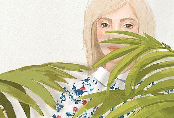 kadın çiçek