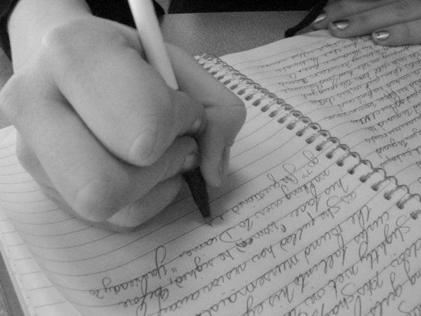 defterdeki el yazısı