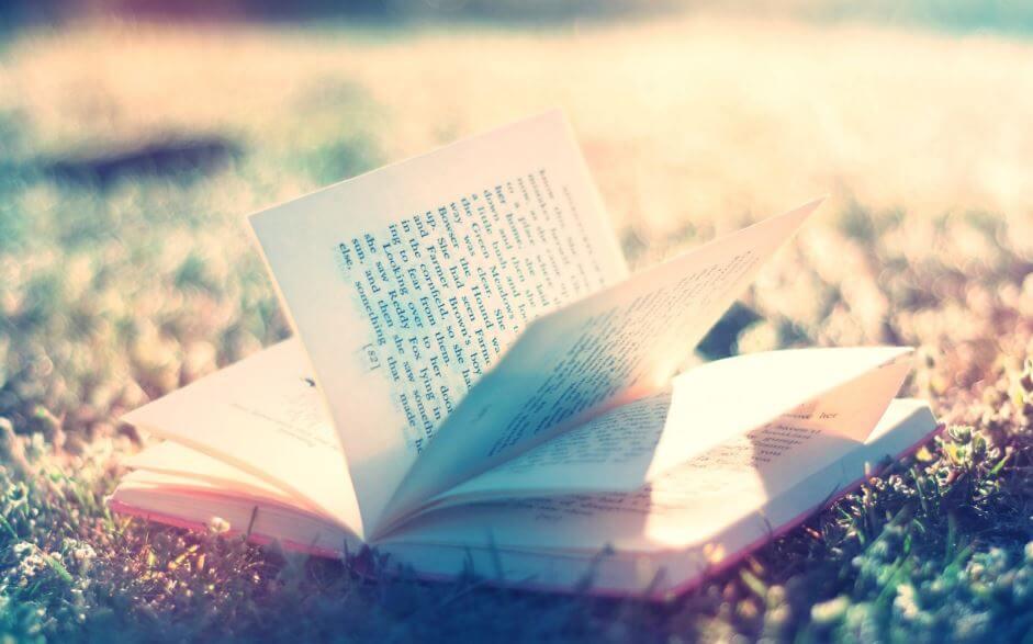 açık duran kitap
