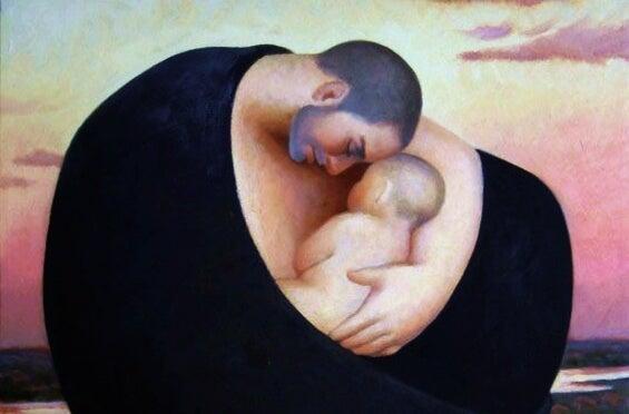Baba Çocuğunu Besleyemeyebilir, Fakat Yine De Onu Yetiştirir