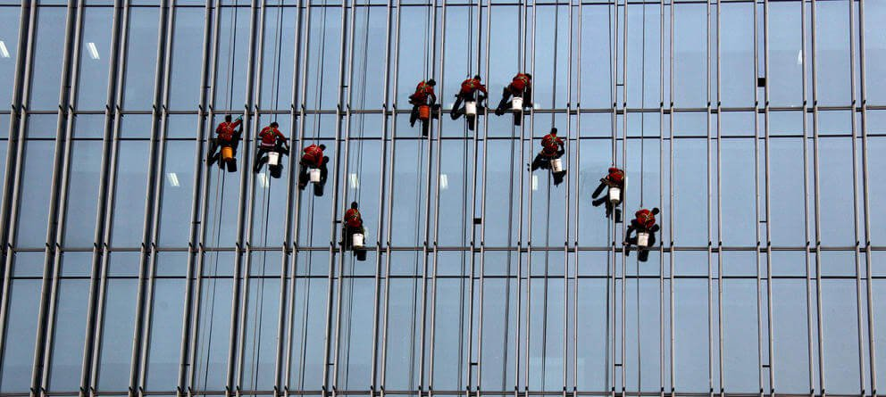 cam silen işçiler