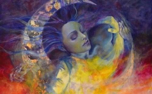 ay ve kadın