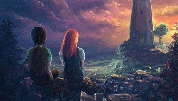 beraber günbatımı izlemek