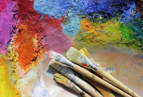 rengarenk boyalar