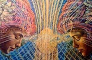 ikiz rengarenk kadınlar