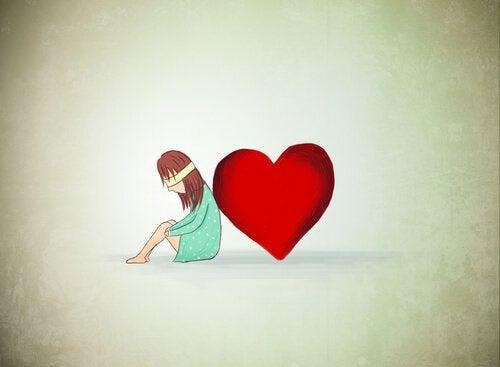 gözü kapalı kalp