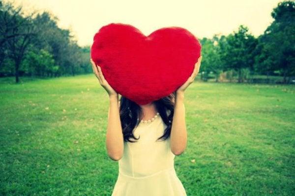 kocaman pelüş kalp