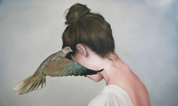 kulağa fısıldayan kuş