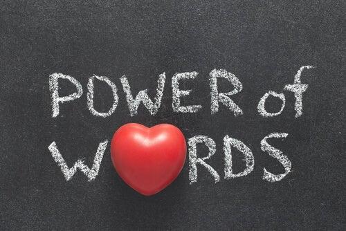 kelimelerin gücü