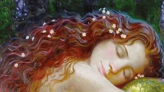 kızıl saçlı kız