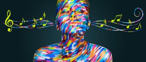 müziğin rengi