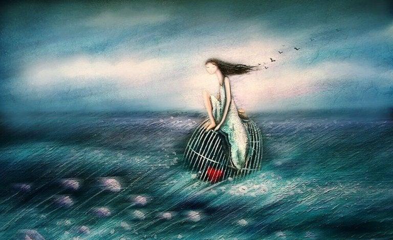 okyanus ve kız