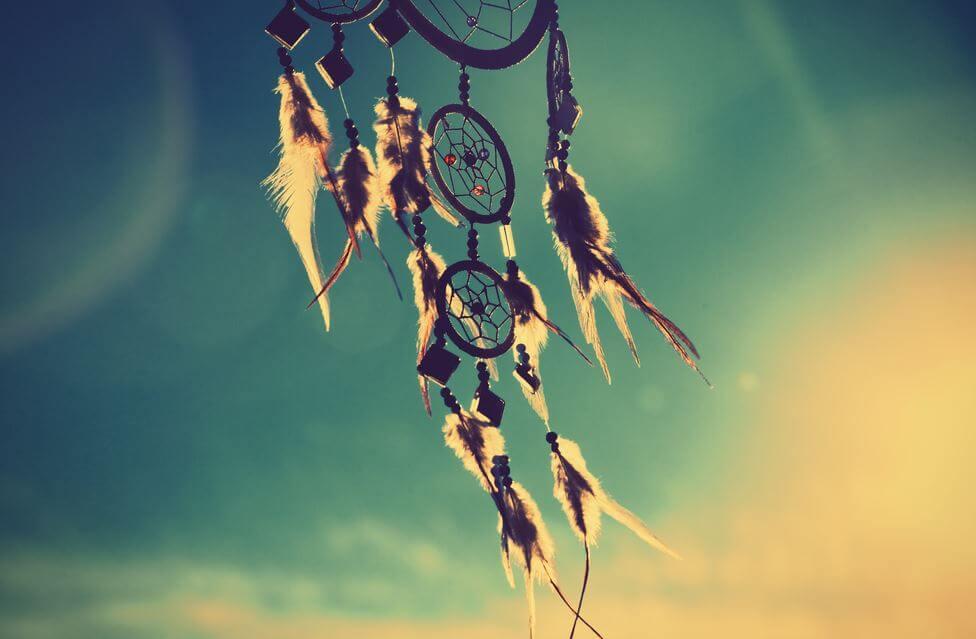 rüya yakalayıcısı totemi