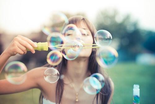 sabun balonları