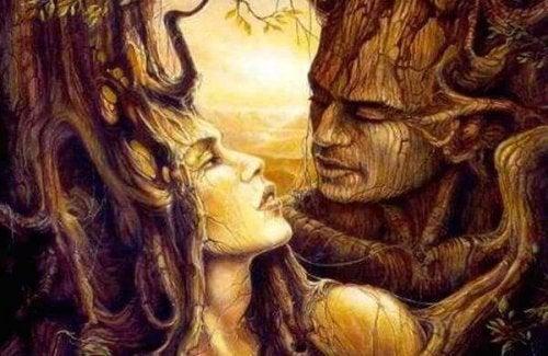 ağaç sevgililer