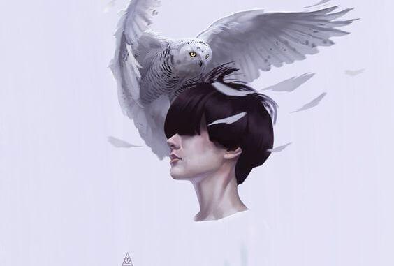 saçlar ve baykuş