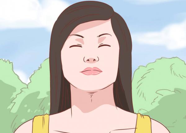 düşünen kadın nefes
