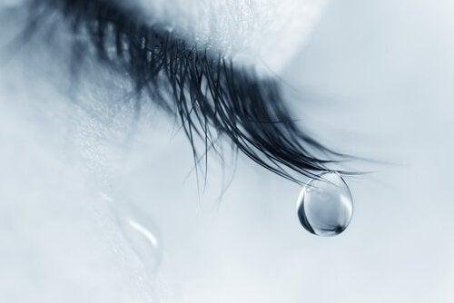 gözyaşı damlası