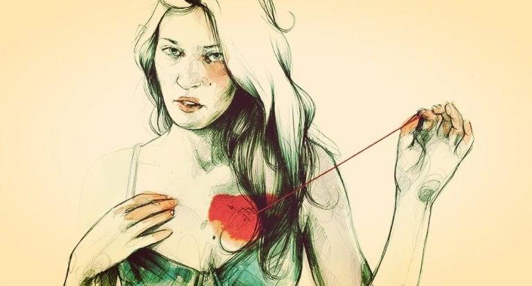 kalbini söken kadın