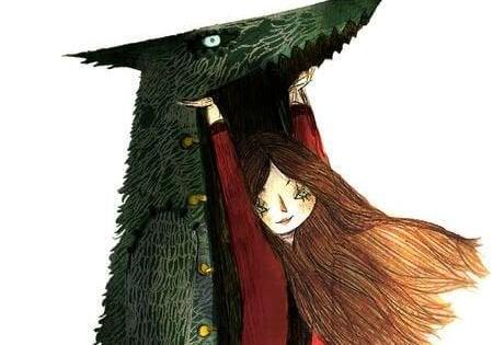 kırmızı başlıklı kız ve kurt