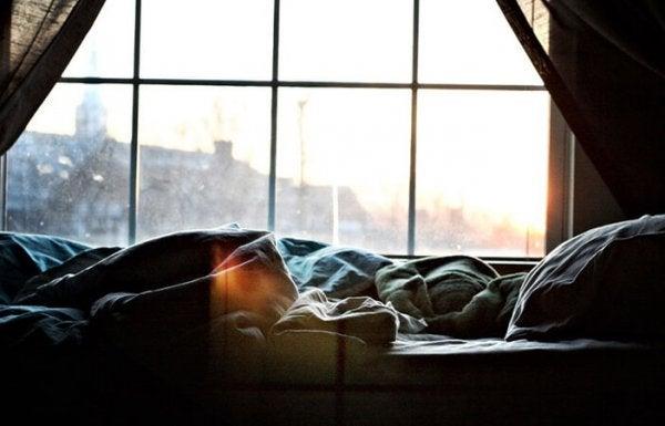 pencereden görünen sabah
