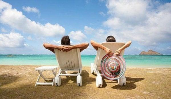sahilde tatil