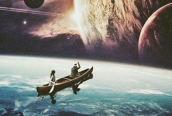 gezegenler arası kayıklı yolculuk